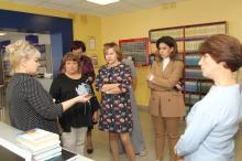 делегация московской школы № 1404 «Гамма»